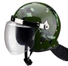 迷彩防暴头盔
